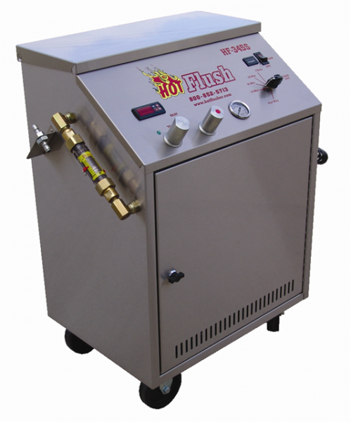 transmission cooler flush machine